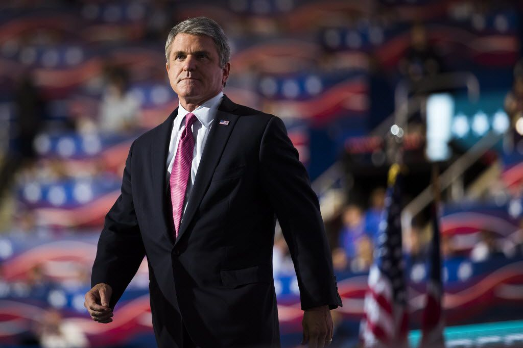 Rep. Michael McCaul of Austin delivered a high-profile speech at the Republican convention in July in Cleveland.