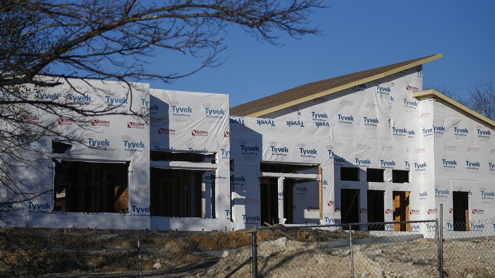AT LAST! boarding school is seen under construction Wednesday, Feb. 26, 2020 in Dallas.