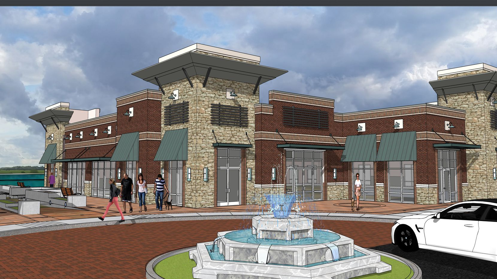 Mercer Crossing Boardwalk is being built just north of Interstate 635.
