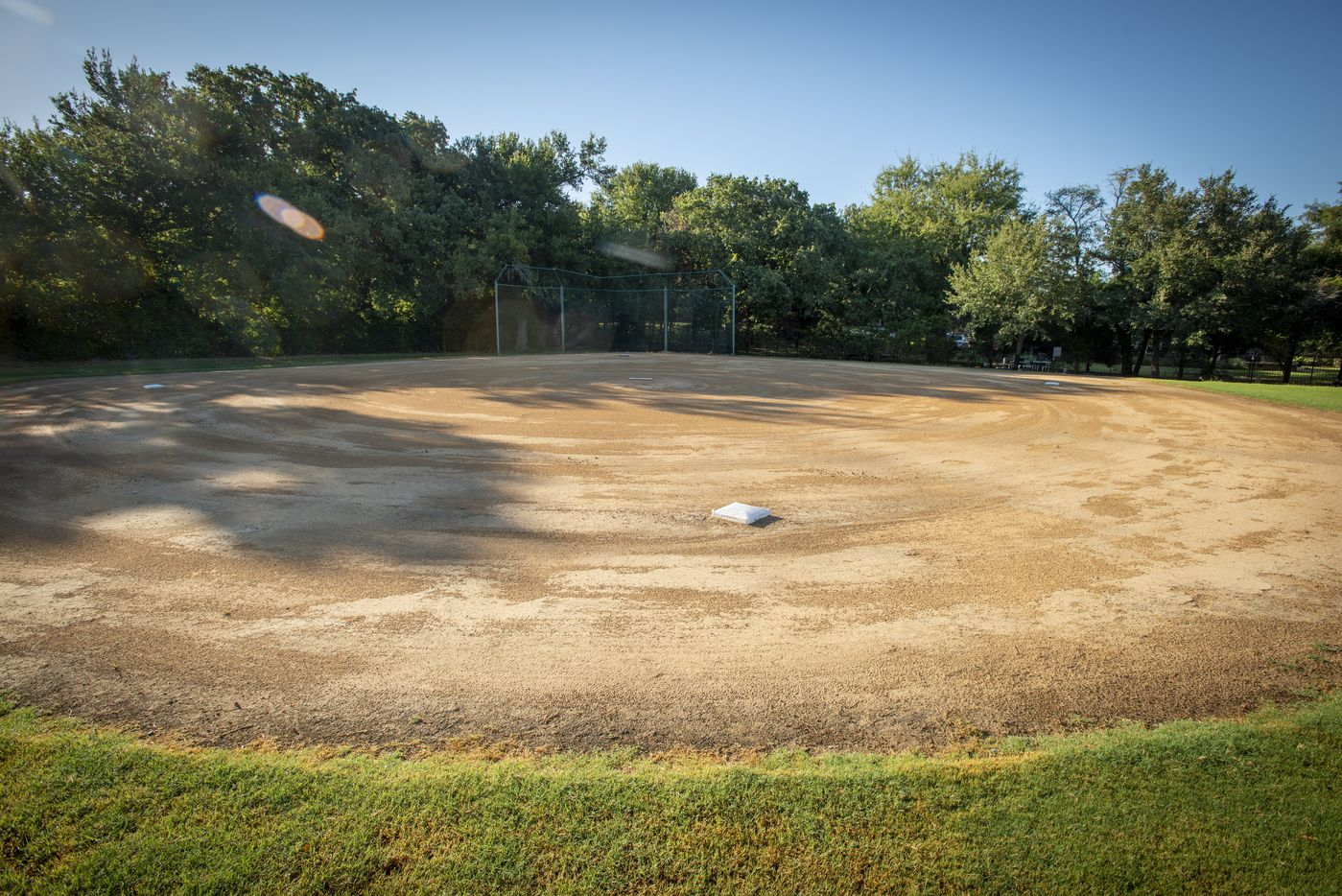 Baseball field at 5101 Kensington Ct., in Flower Mound, Texas on August 19, 2020. (Robert W. Hart/Special Contributor)