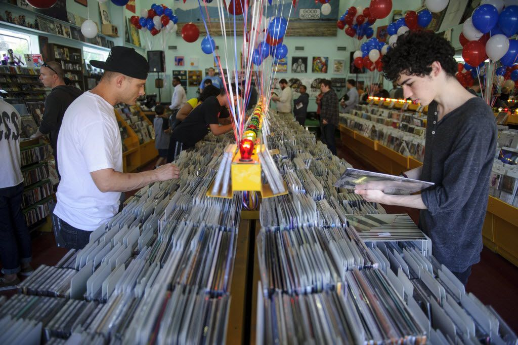 Check Good Records' Facebook page for info on upcoming in-store performances.