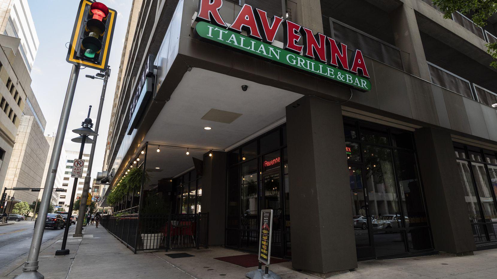 Ravenna Italian Grille restaurant in Downtown Dallas