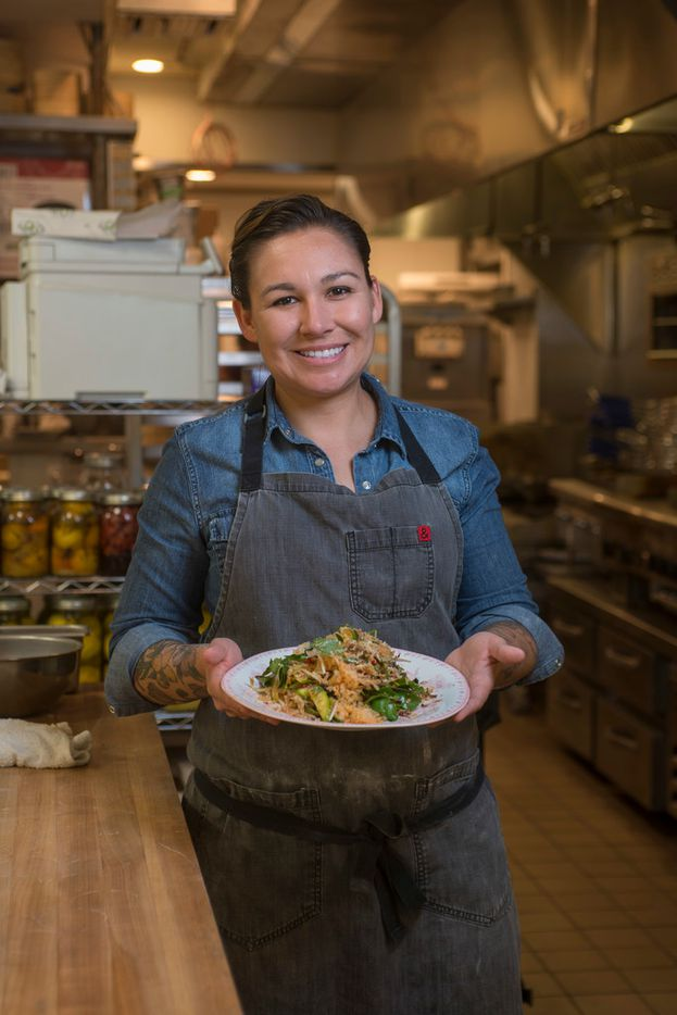 Kirstyn Brewer is the executive chef at Gung Ho restaurant on Greenville Avenue in Dallas.