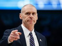 Dallas Mavericks head coach Rick Carlisle works the bench during the first half of an NBA matchup between the Dallas Mavericks and the Chicago Bulls on Monday, Jan. 6, 2019 at American Airlines Center in Dallas.