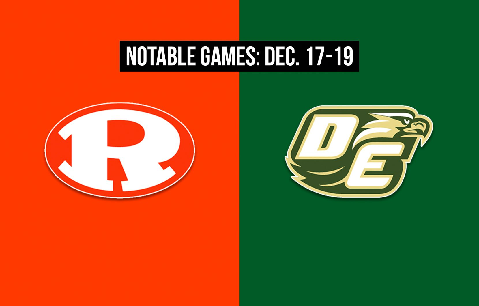 Notable games for the week of Dec. 17-19 of the 2020 season: Rockwall vs. DeSoto.