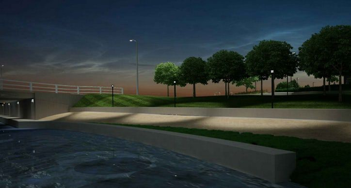 And this is what QT says it will build as part of the greenbelt park.