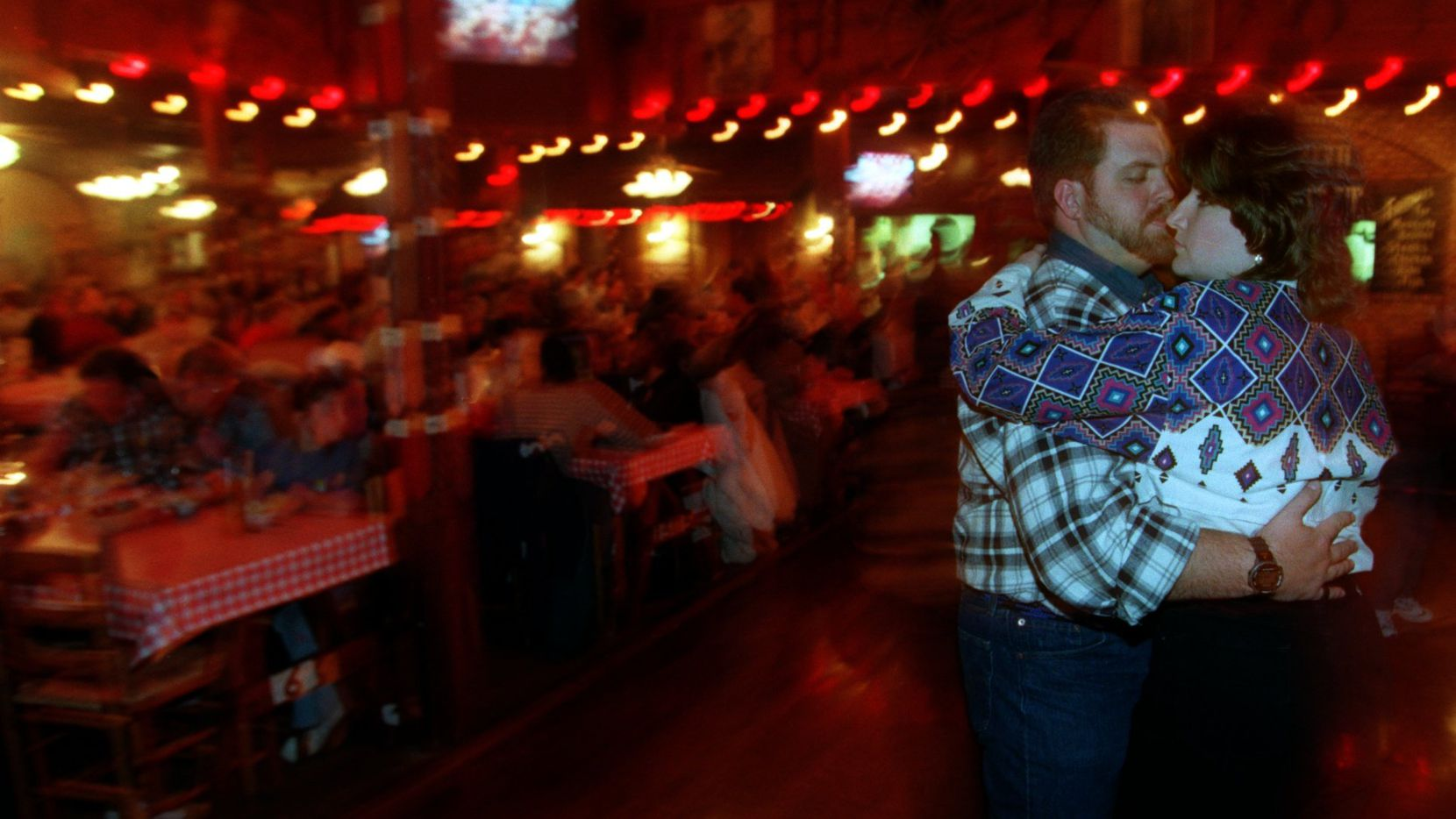 Camden and Dana Stone danced the night away at the Trail Dust Steak House in Mesquite one night in 1999.