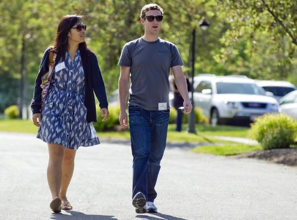 Mark Zuckerberg, president and CEO of Facebook, and his wife, Priscilla Chan, were the most generous American philanthropists in 2013, according to the Chronicle of Philanthropy.