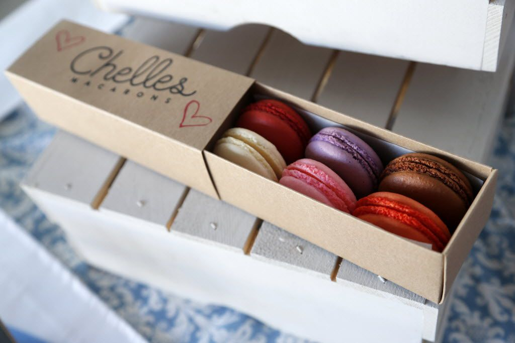 Chelles Macarons, located at The Shed in the Dallas Farmers Market