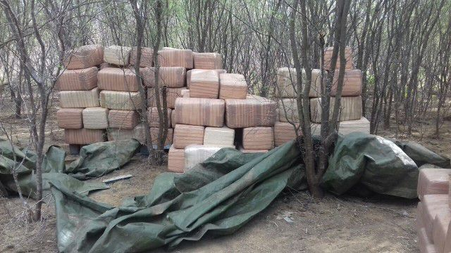 A bi-national seizure netted a total of 6,282 pounds of marijuana with an estimated street value of $5 million.