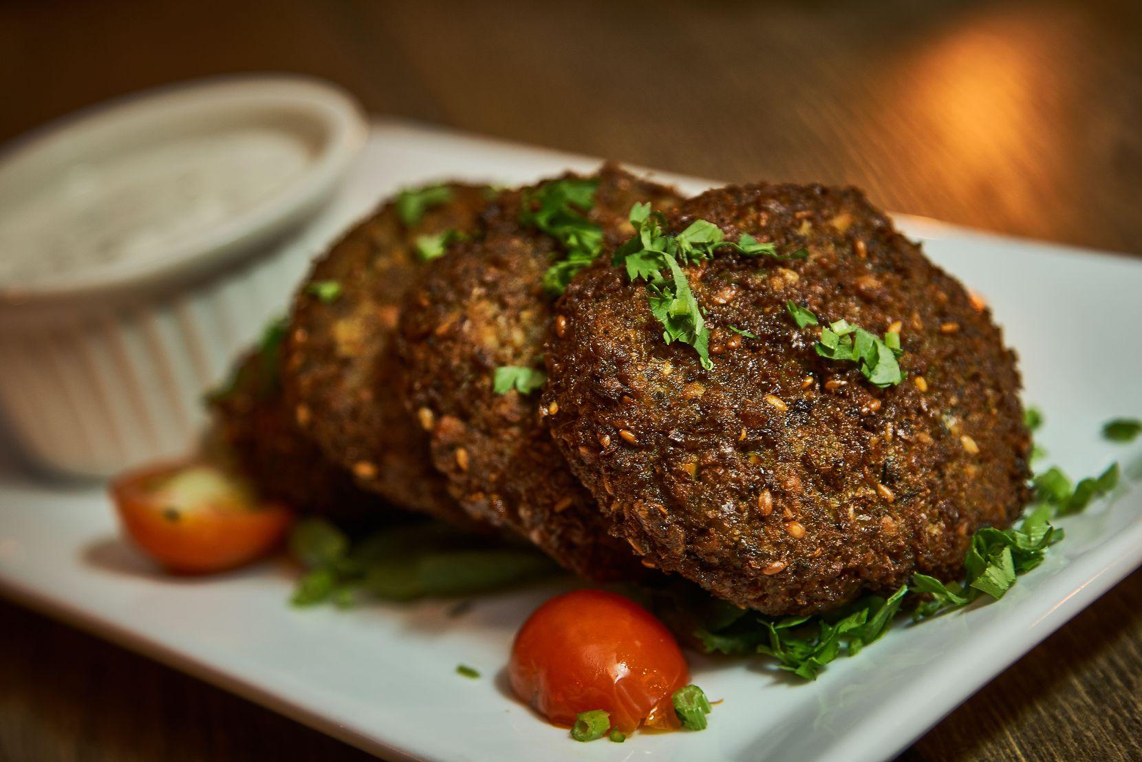 Gluten-free falafel from Ephesus restaurant in Dallas.