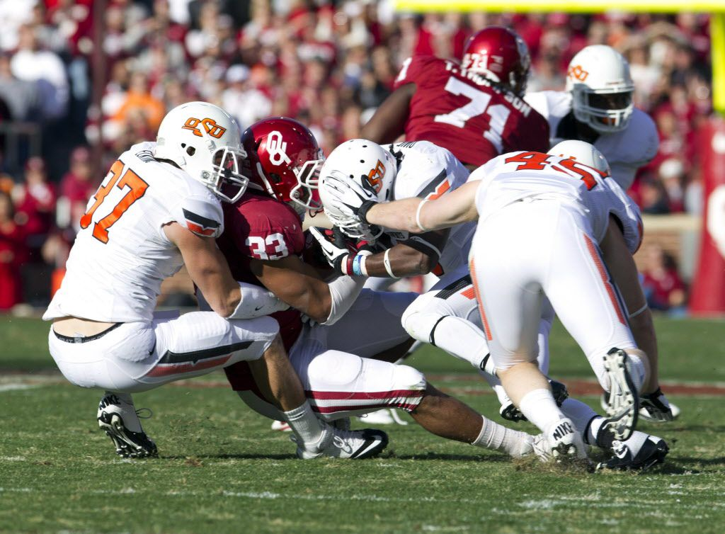 The rivalry between Oklahoma and Oklahoma State dates back to 1904.
