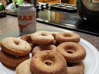 Maeve Skidmore created a donut challenge for a new Facebook group called  The Great COVID Bake-Off!