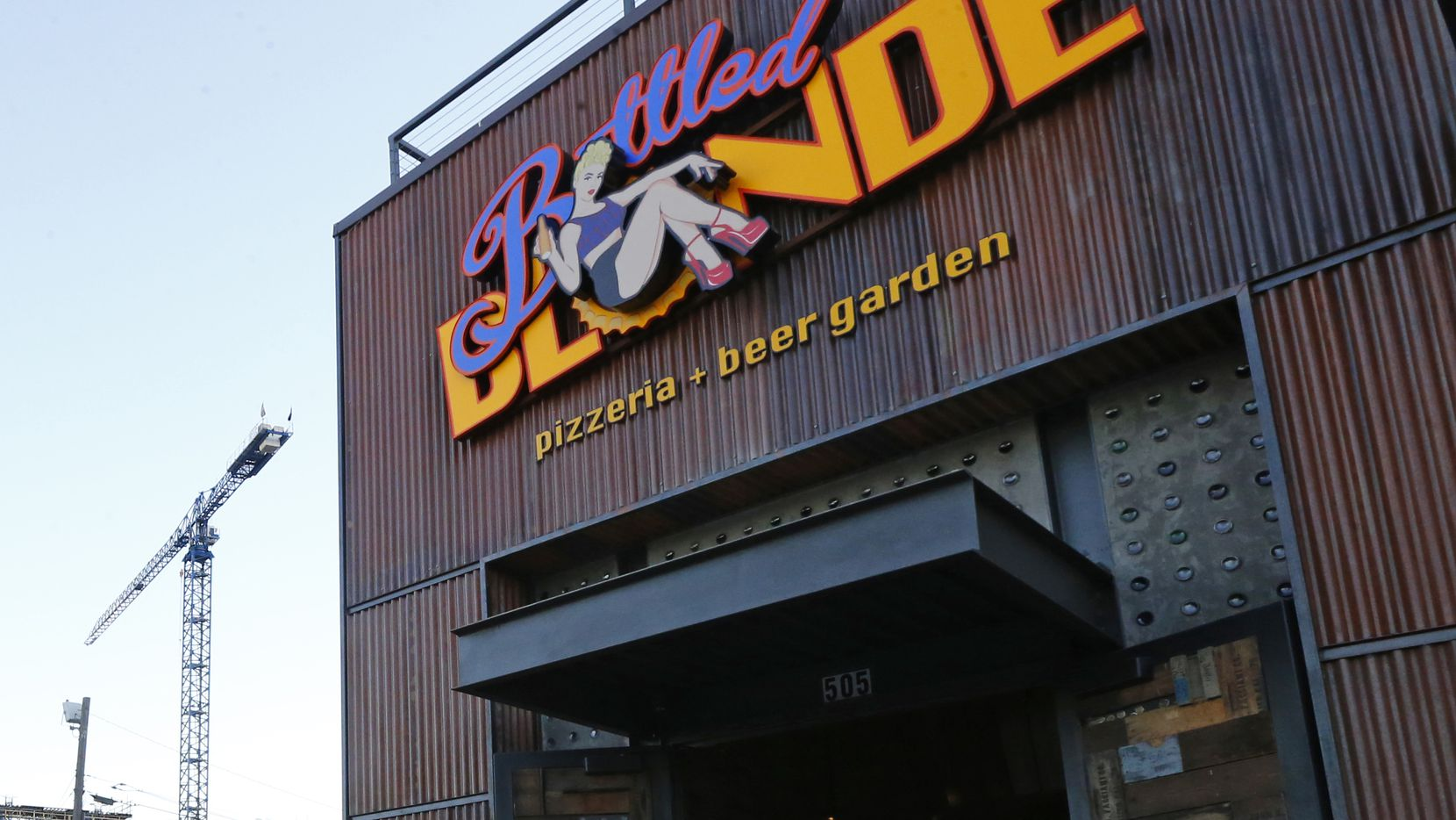Bottled Blonde is located on Good Latimer in Deep Ellum. TABC and Dallas Code Compliance agents have visited it regularly during the coronavirus pandemic.
