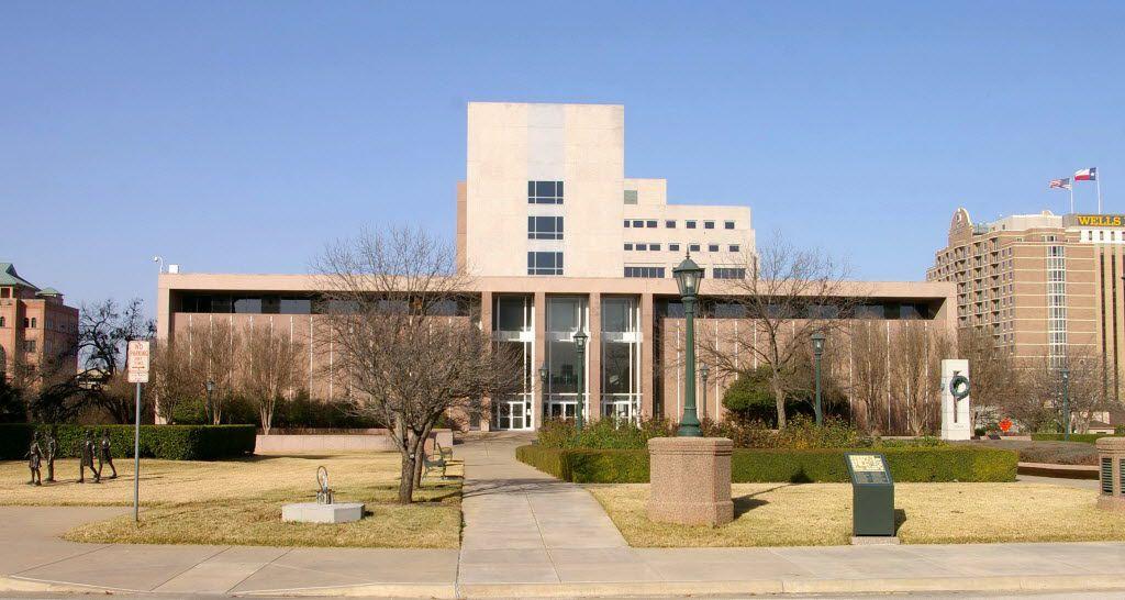 The Texas Supreme Court, in Austin.