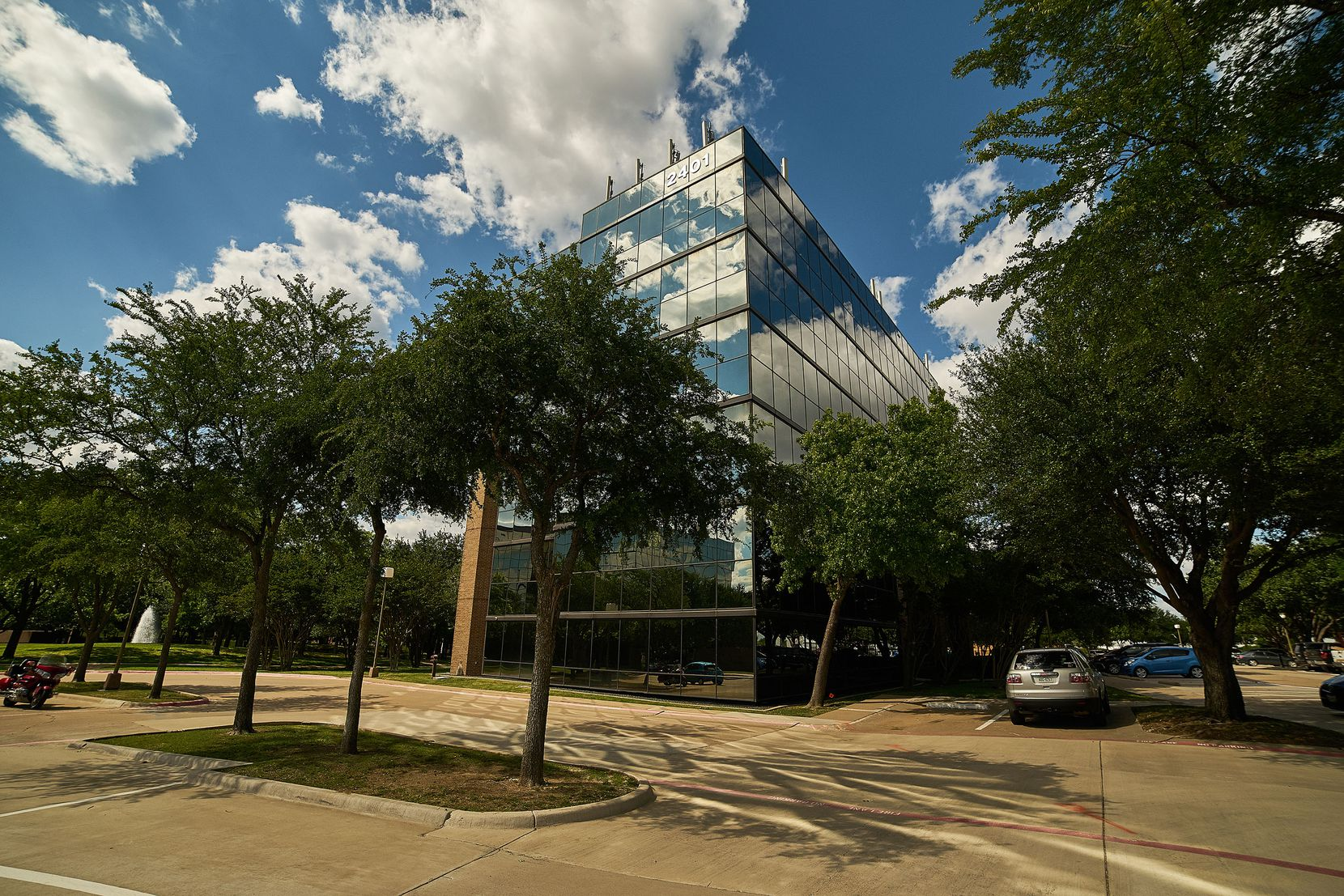 The Centerpoint office campus has four buildings.