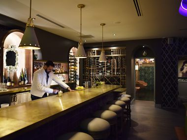 Bar Charles opens on Tuesday night, with a strong menu of Champagnes plus cocktails and snacks.