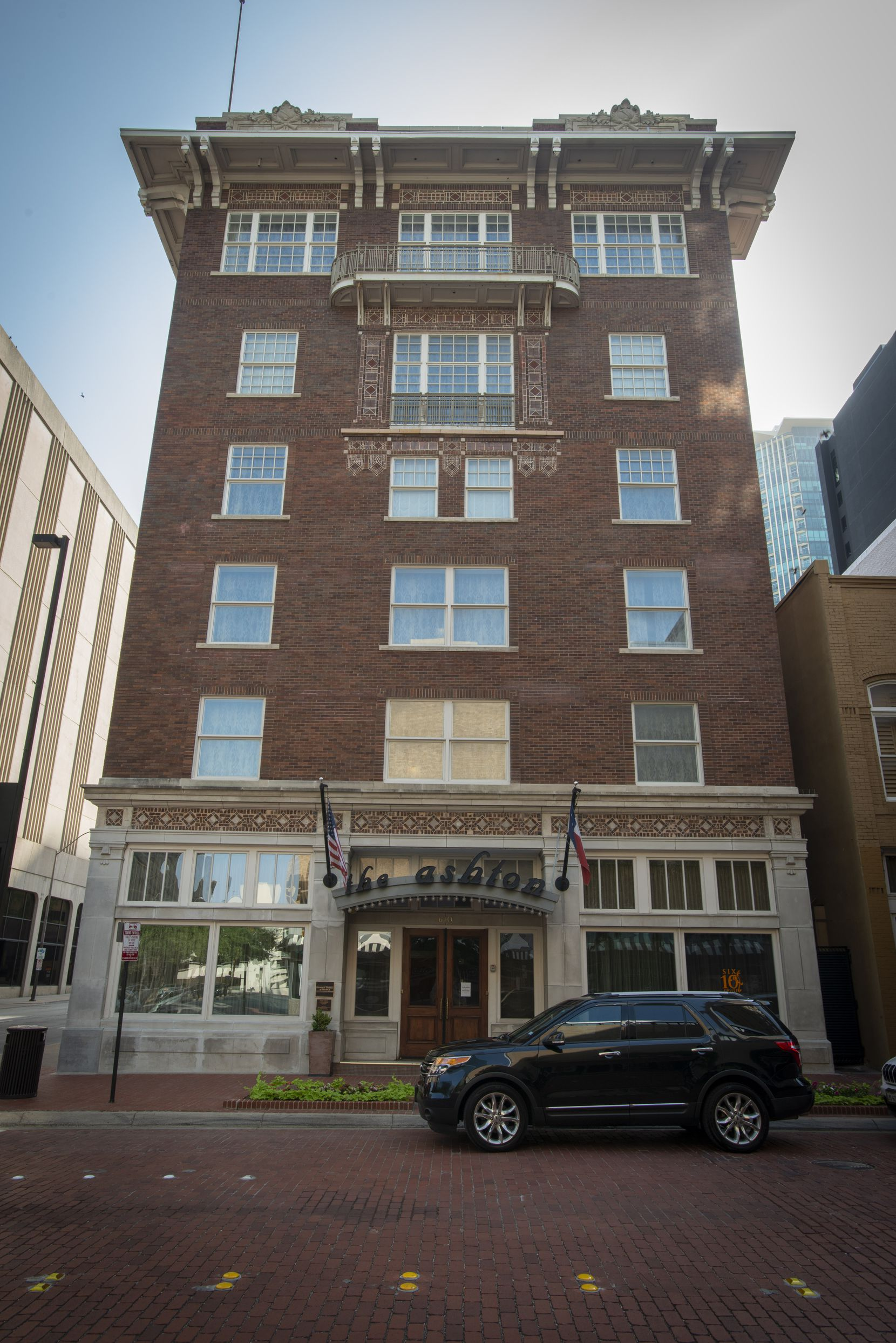 Ashford Hospitality Trust owns The Ashton in Fort Worth, a boutique hotel that holds a coveted spot on the Historic Hotels of America roster.