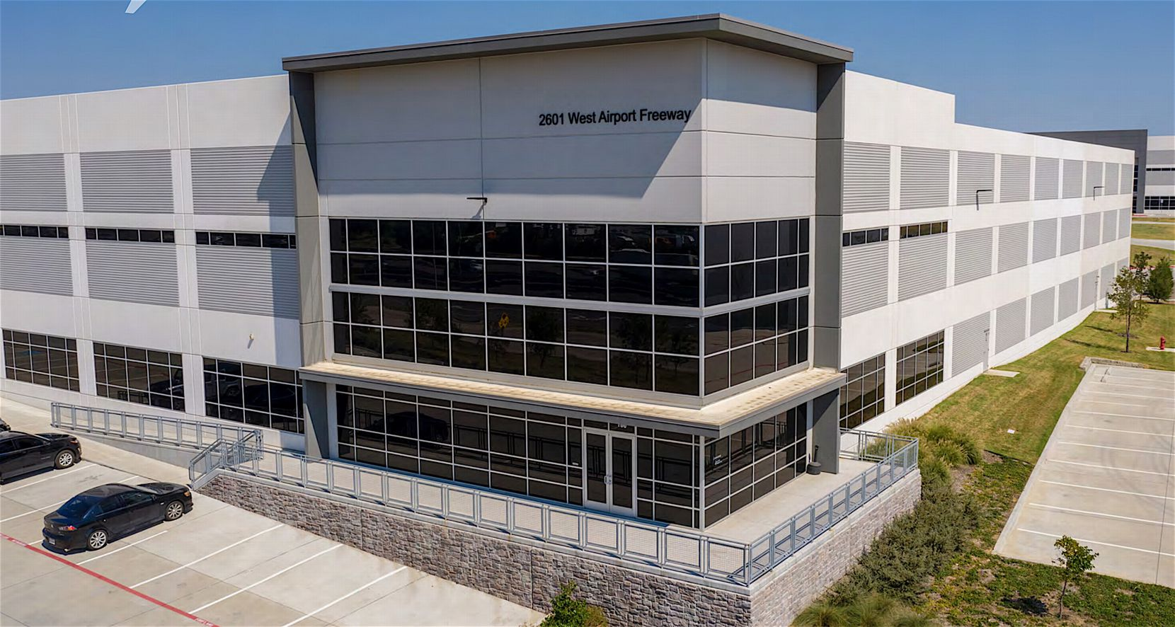 The Gateway Logistics Center has 1.4 million square feet in five buildings.