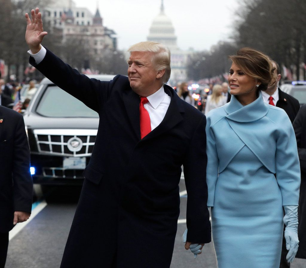 President Donald Trump raised a record-setting $107 million for his inauguration in January. (AP Photo/Evan Vucci, Pool, File)