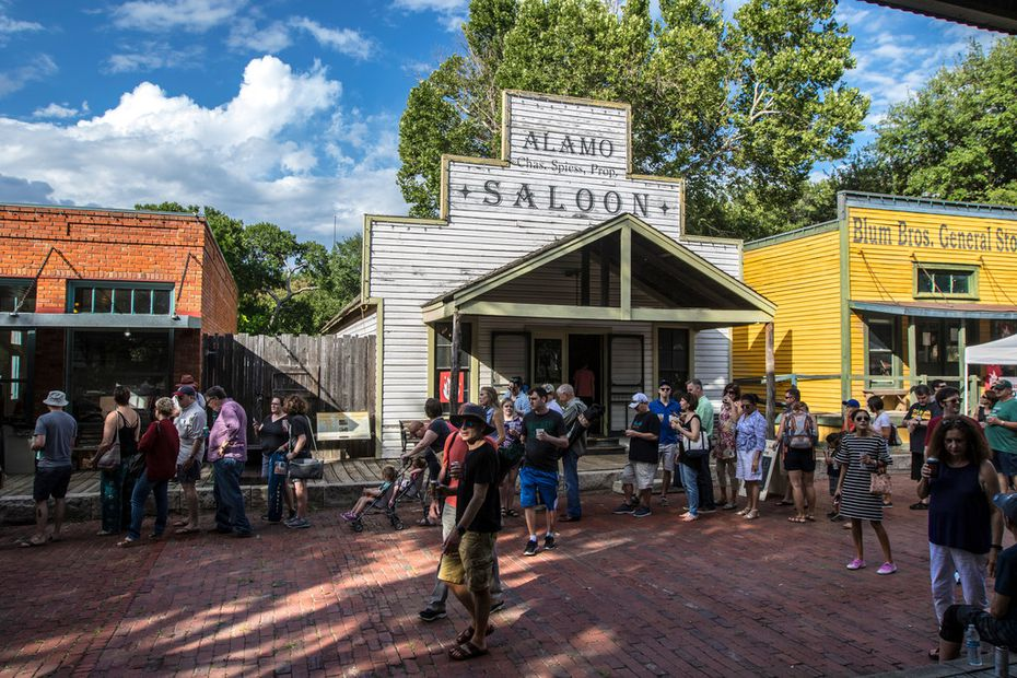 Dallas Heritage Village makes for an old-timey setting for a festival named to honor the history of Texas barbecue.
