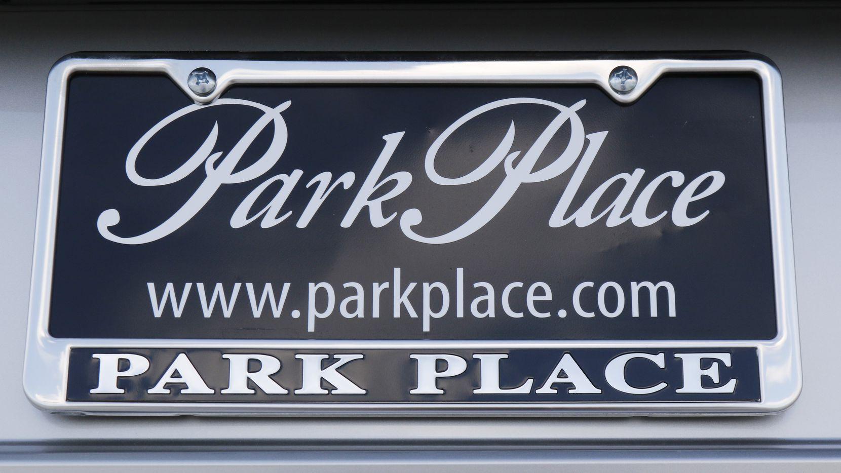 Park Place Jaguar DFW dealership located in Grapevine.