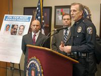 Larry Boyd, then the Irving police chief, talked during a news conference in 2014 about the addition of Yaser Abdel Said to the FBI's Ten Most Wanted list.