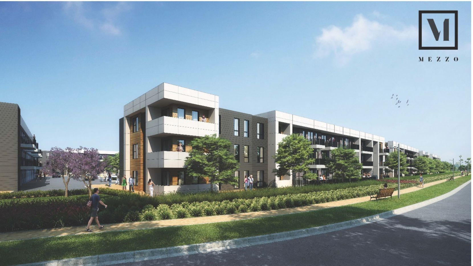 ZOM Living's Mezzo apartments will open in the third quarter of 2021.