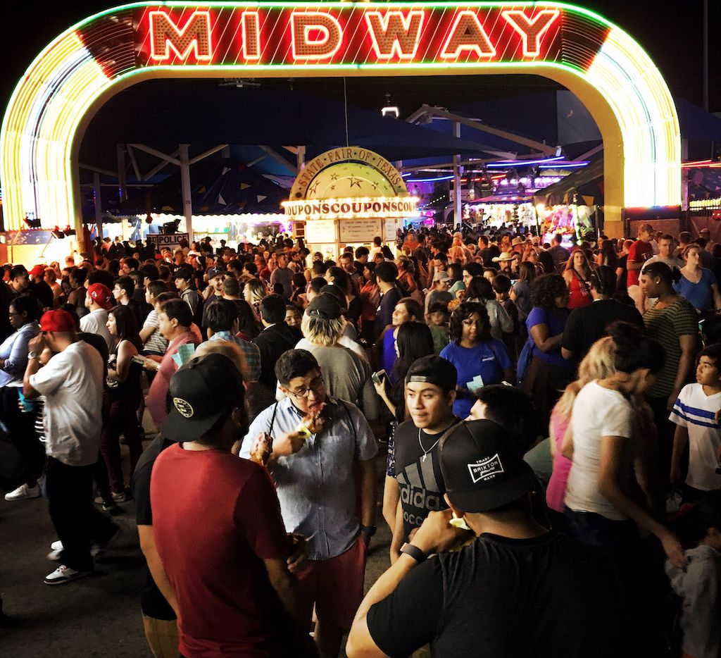 The State Fair of Texas' Midway