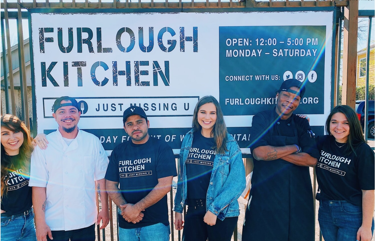 Furlough Kitchen feeds laid-off hospitality workers.
