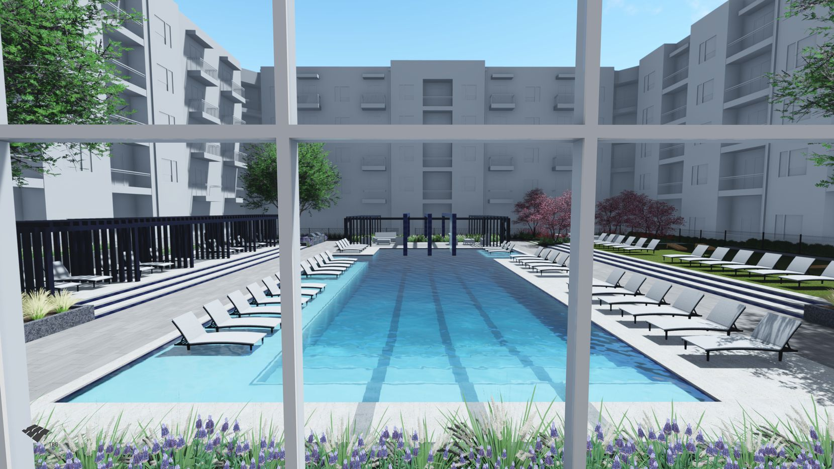 Leon Capital Group's Ross Avenue apartment development is on the site of the old Dallas school district headquarters.