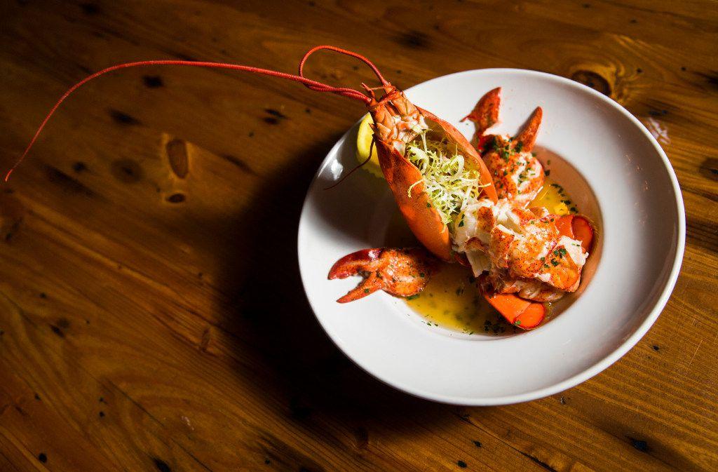 Maine Lobster at Town Hearth restaurant on Thursday, April 20, 2017 on Market Center Blvd. in Dallas. (Ashley Landis/The Dallas Morning News)