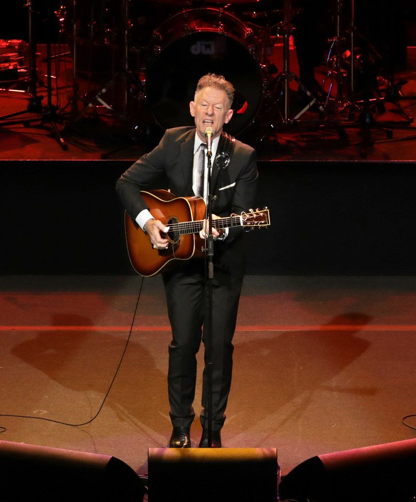 Lyle Lovett performs at the Winspear Opera House in Dallas, Texas, on Aug. 18, 2019. (Jason Janik/Special Contributor)