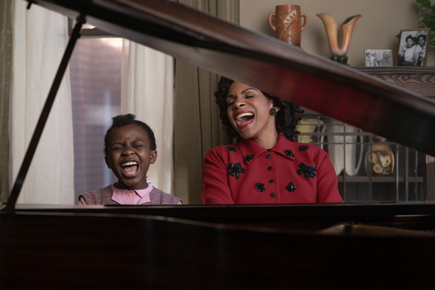 """Turner and Audra McDonald appear in a scene from """"Respect."""""""