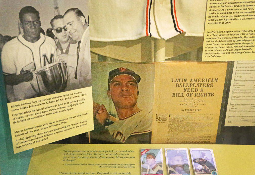 The Viva Baseball exhibit is pictured at the Baseball Hall of Fame in Cooperstown, NY, photographed on Tuesday, May 30, 2017. (Louis DeLuca/The Dallas Morning News)