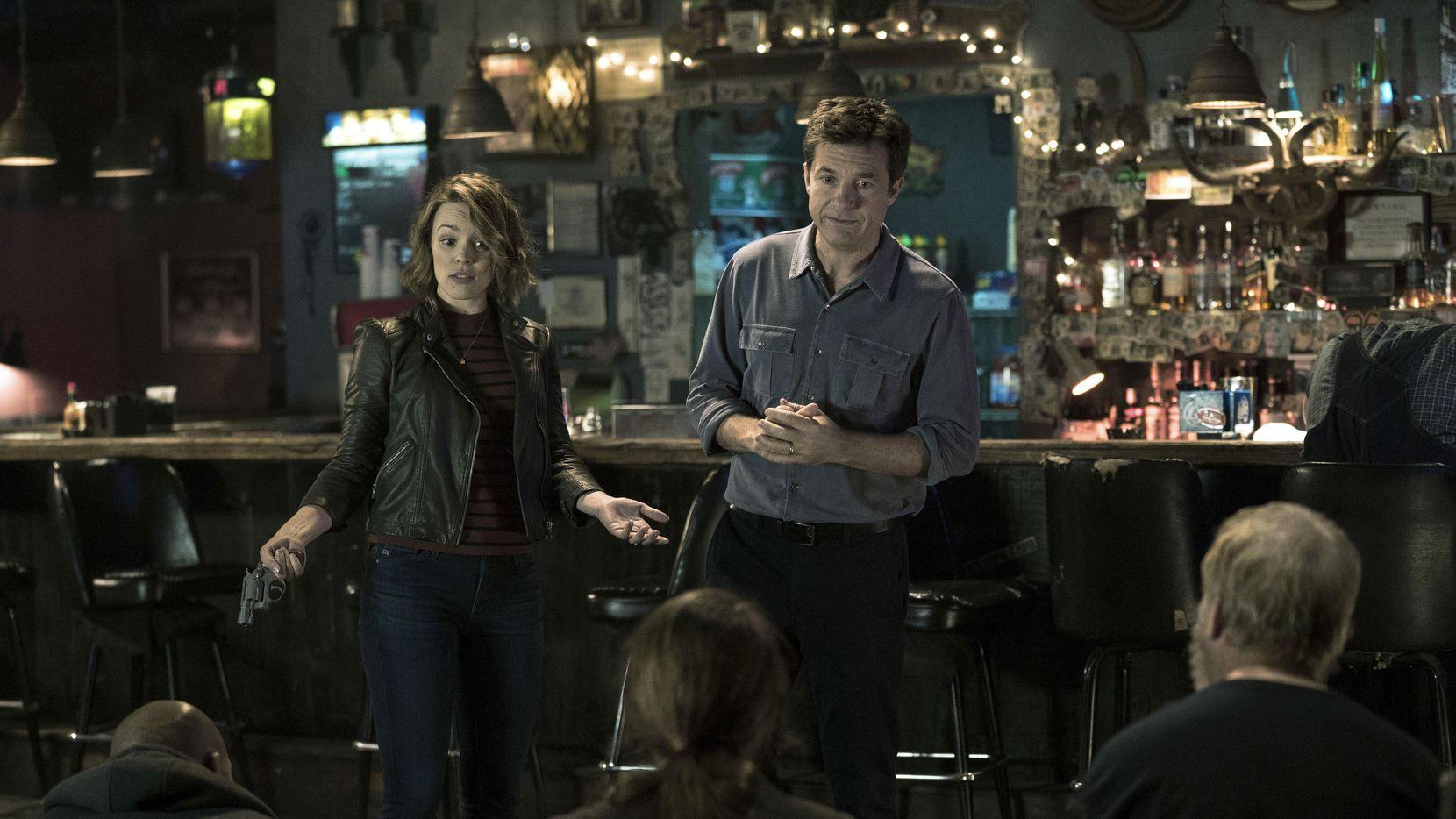 """Rachel McAdams y Jason Bateman en una escena de""""Game Night"""".(Warner Bros. Entertainment)"""