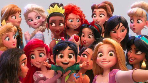 """Ralph Breaks the Internet"".(Disney)"