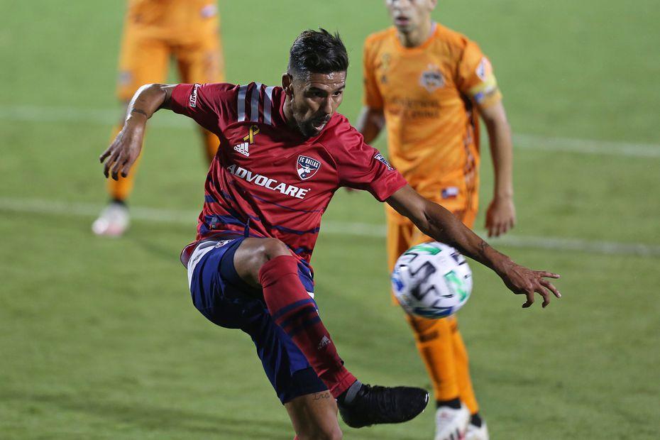 El delantero argentino Franco Jara es la actual esperanza goleadora del FC Dallas.