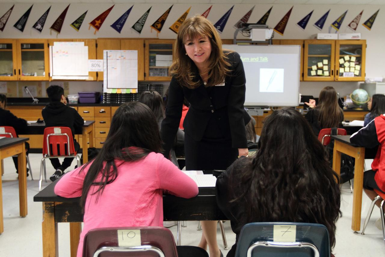 Stephanie Elizalde, Dallas ISD's chief of school leadership, made a presentation to the district's trustees that could help coalesce a vision for the district's future.