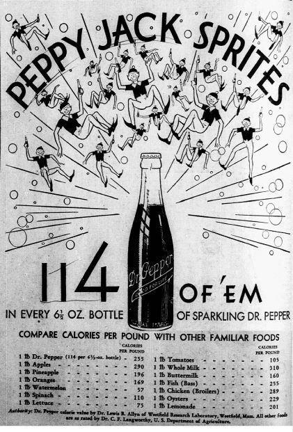 Advertisement published on May 27, 1932.
