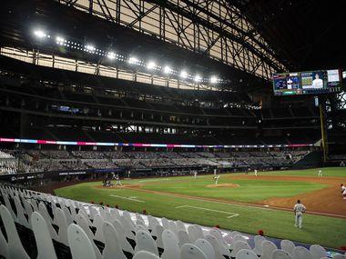 El Globe Life Field de Arlington está contemplado para ser la sede neutral de la Serie Mundial de beisbol en la temporada 2020.