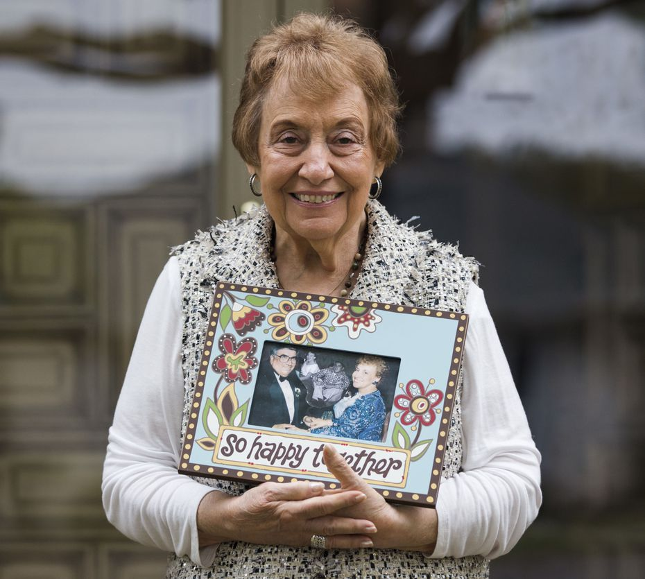 Two weeks after her husband Frank's death in March, Lucy Rose Campise stood in their Lakewood home of 45 years, holding a cherished memory of them together.