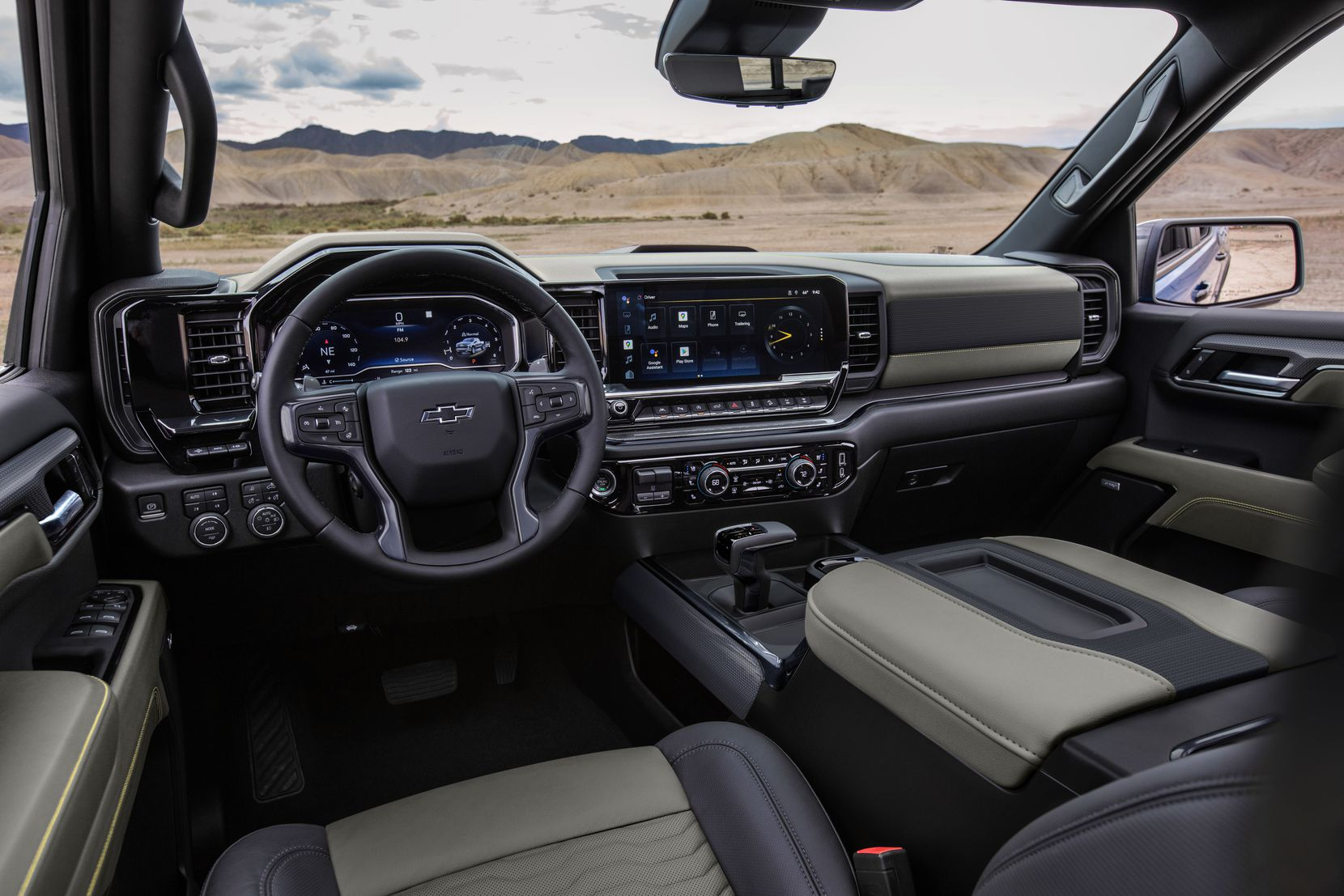 The ZR2 is equipped with a state-of-the-art, digital interior.