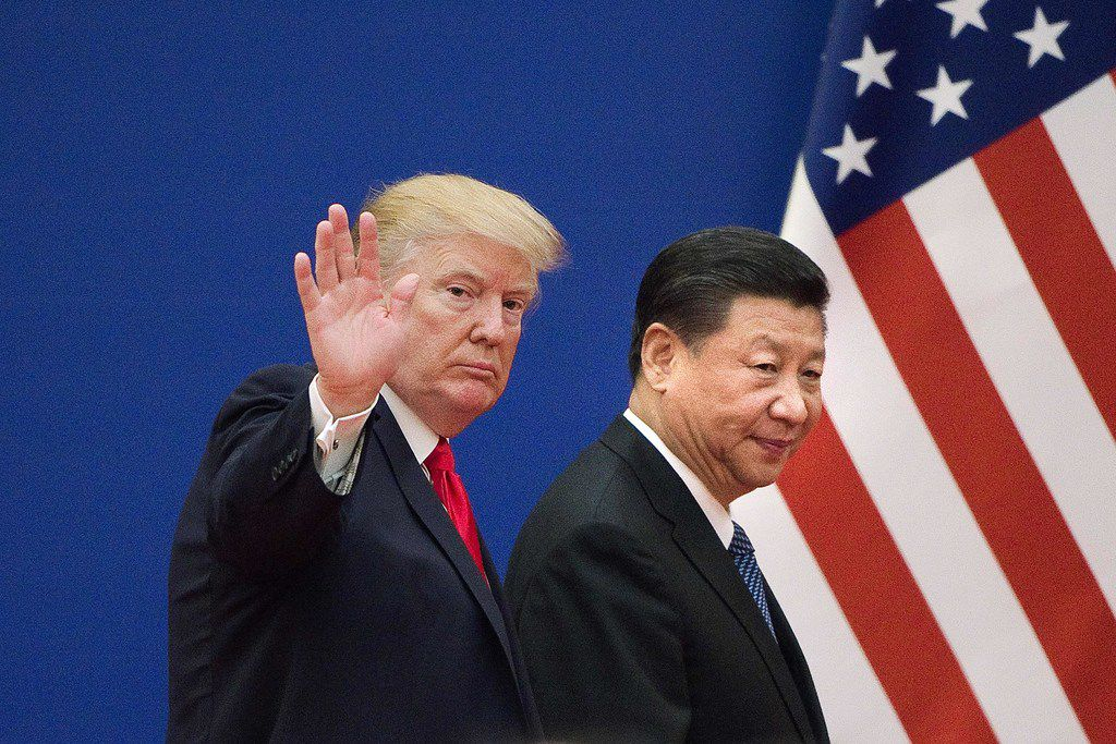 President Donald Trump has urged Chinese President Xi Jinping to cut a deal on trade. But if Beijing does come around, Trump has pledged to impose tariffs on an addition $300 billion in tariffs.