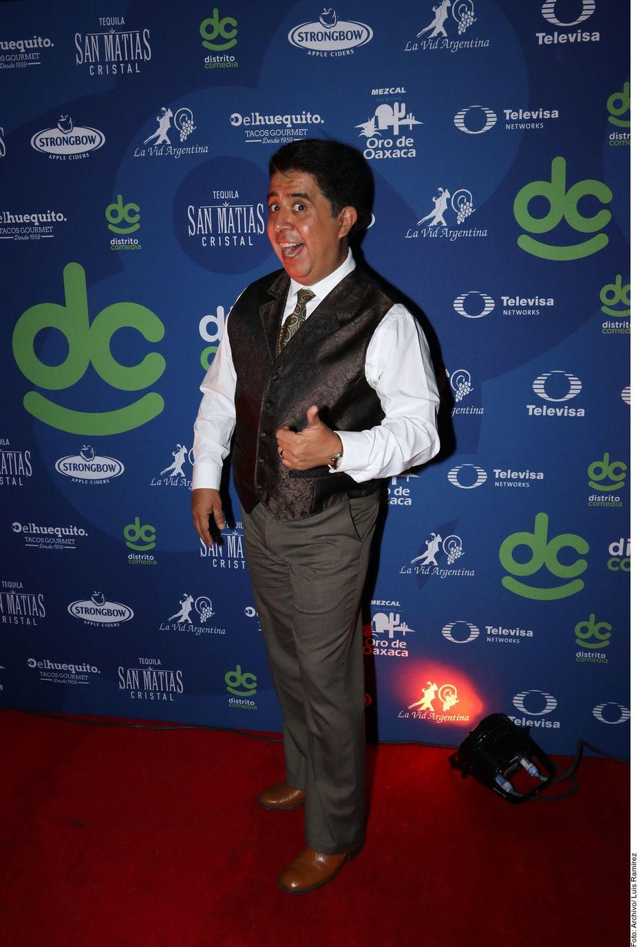 El comediante mexicano Carlos Eduardo Rico.