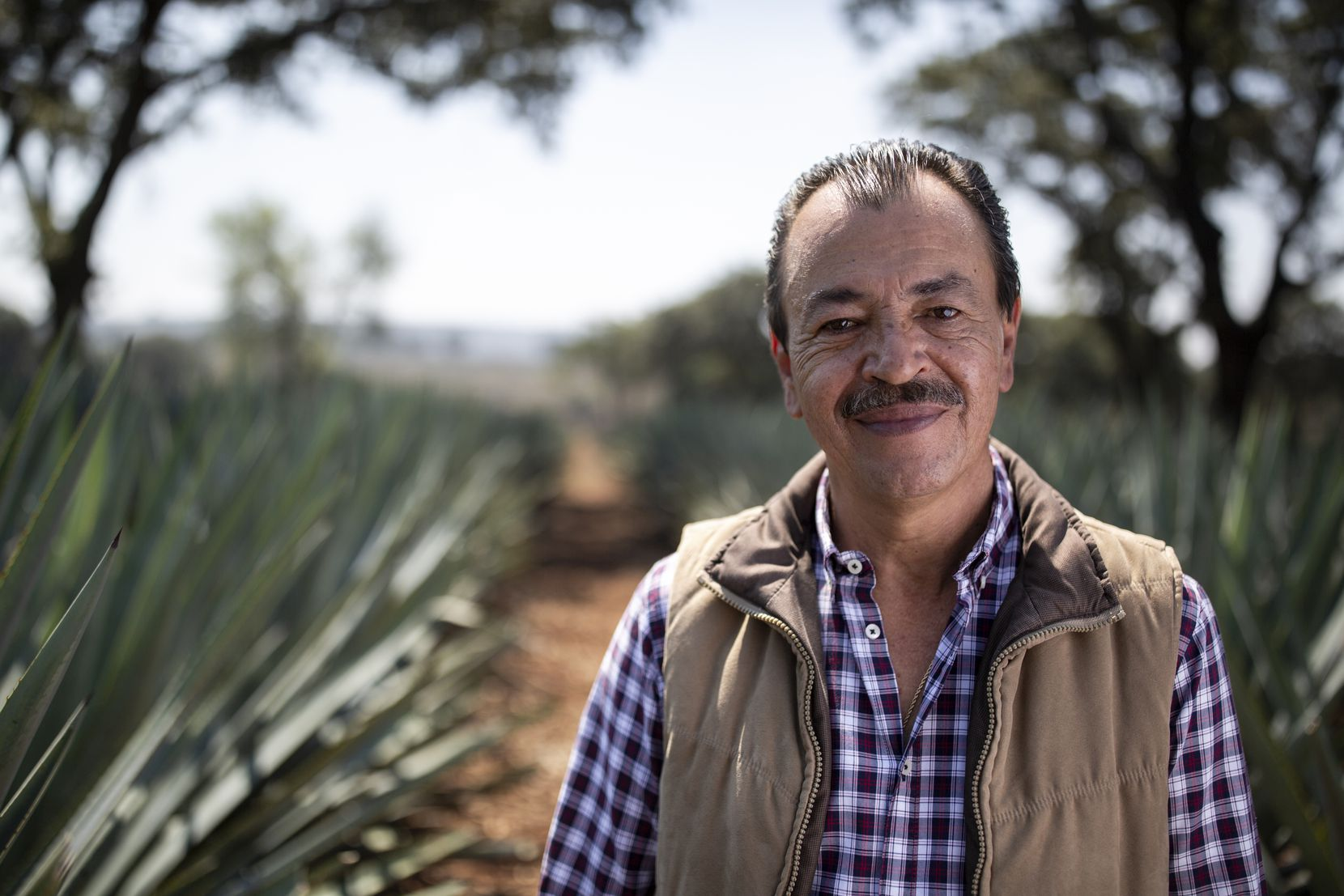 Carlos Camarena is master distiller at La Altena Distillery in the Jalisco highlands.