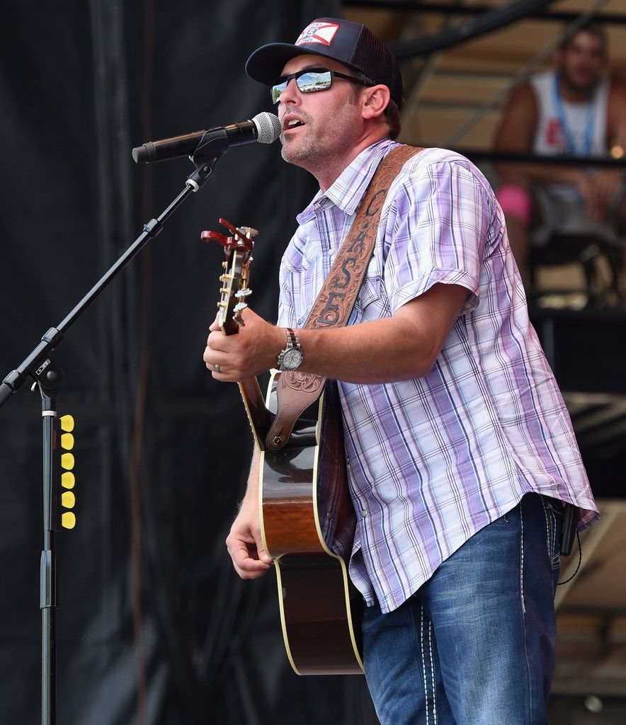 Singer/Songwriter Casey Donahew performs at Kicker Country Stampede Manhattan, Kansas - Day 3 on June 25, 2016 in Manhattan, Kansas.
