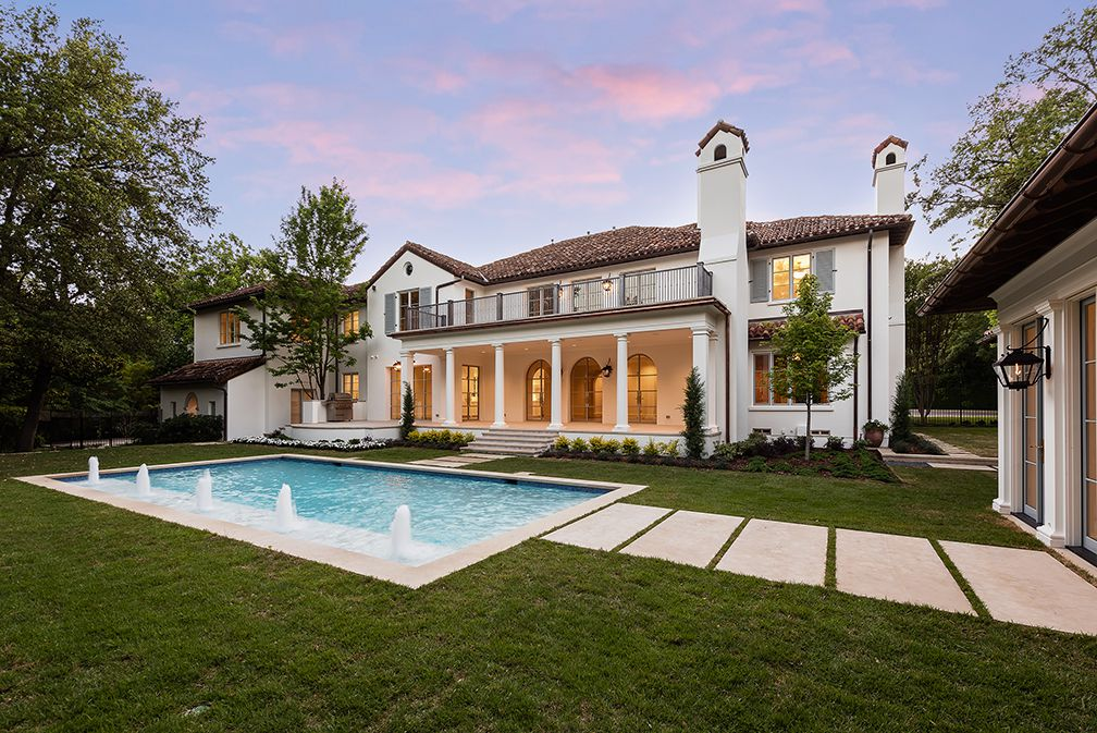 A look at the property at 6810 Turtle Creek Boulevard in Dallas.