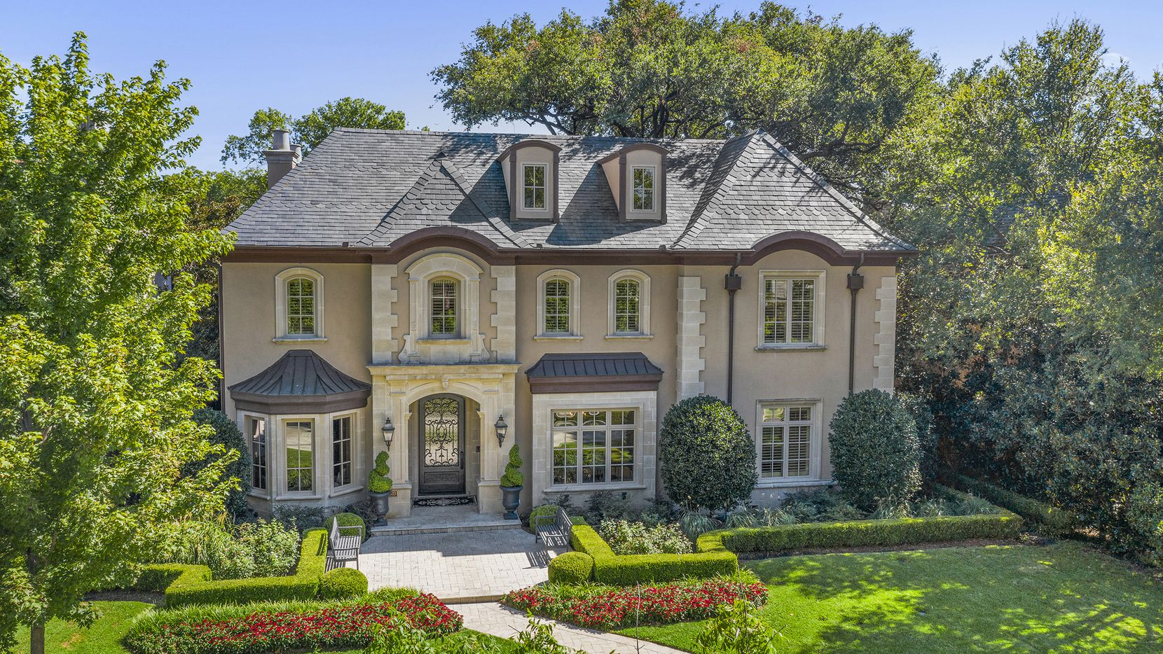 The updated French-style home at 3909 Centenary Ave. in University Park will be held open from 1 to 3 p.m. on Sept. 20.
