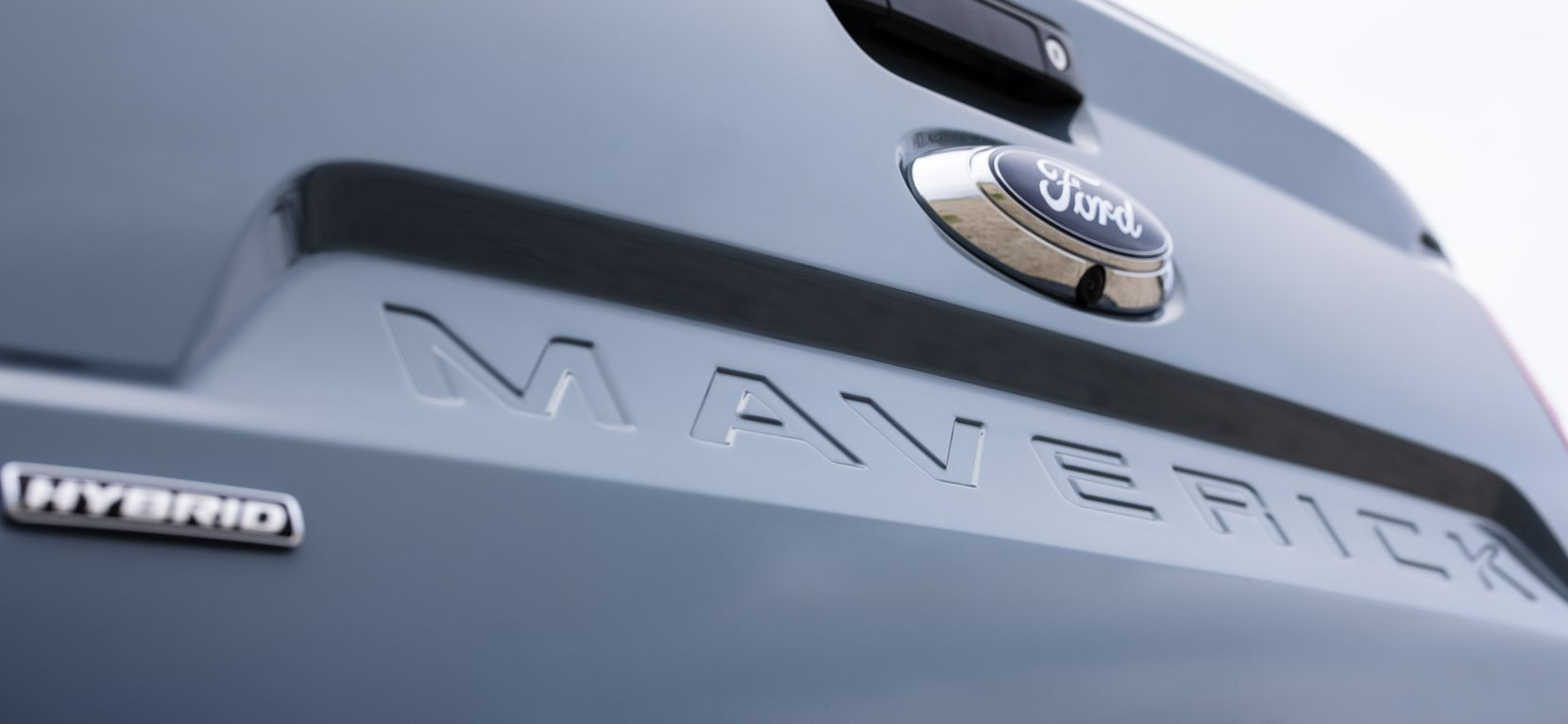 The 2022 Ford Maverick Hybrid XLT.